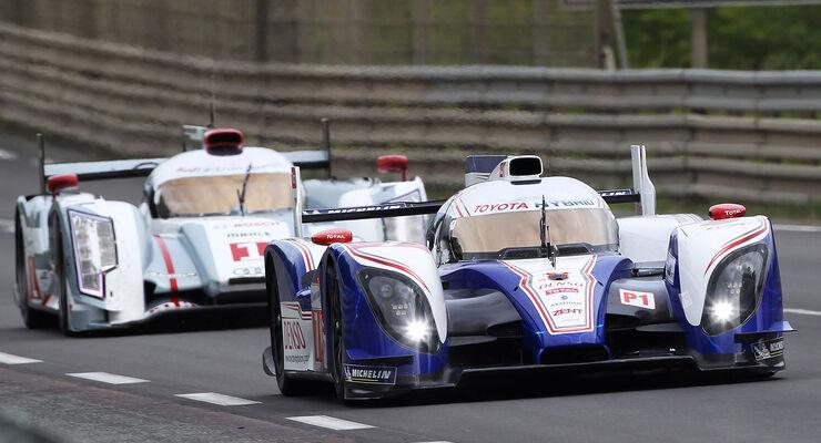 #7 - TOYOTA RACING - LM P1 - JPN - TOYOTA TS 030 - HYBRID