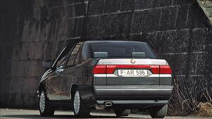 Alfa 155 V6, Heckansicht