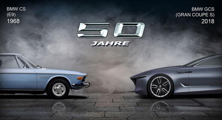 Bmw Gran Coupe S E9 Revival Zum 50 Geburtstag Auto Motor Und Sport