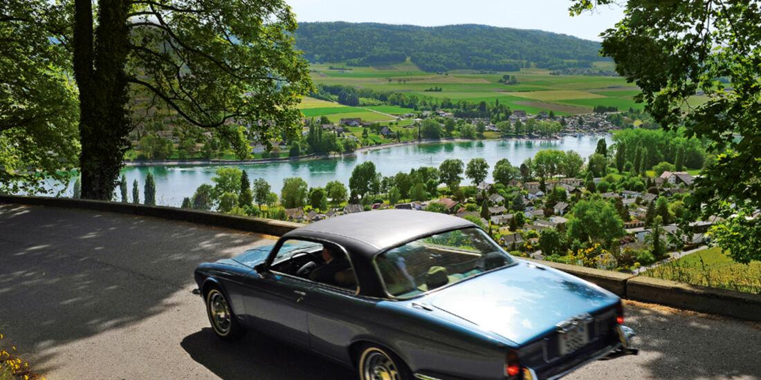 Jaguar XJ 6, Heck, Rückansicht