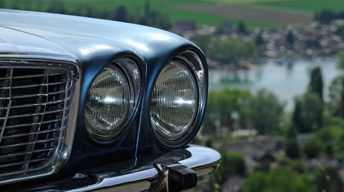 Jaguar XJ 6, Kühlergrill