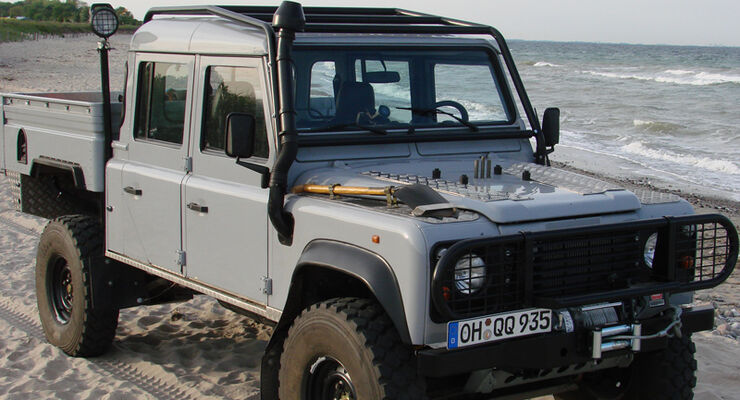 Leserauto Land Rover Defender 130 Crew Cab: Last-Kraft-Wagen - auto