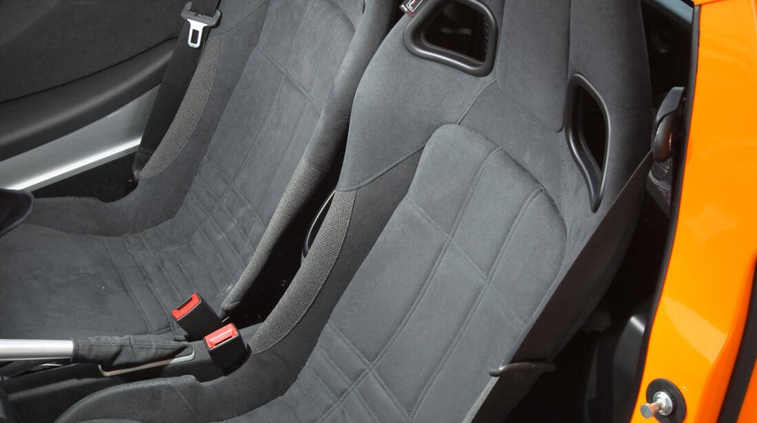 Lotus Elise S, Fahrersitz