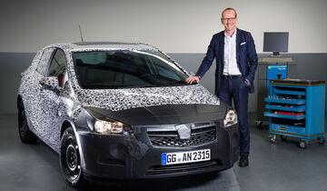 Opel Astra 2015, Erlkönig, Karl-Thomas Neumann