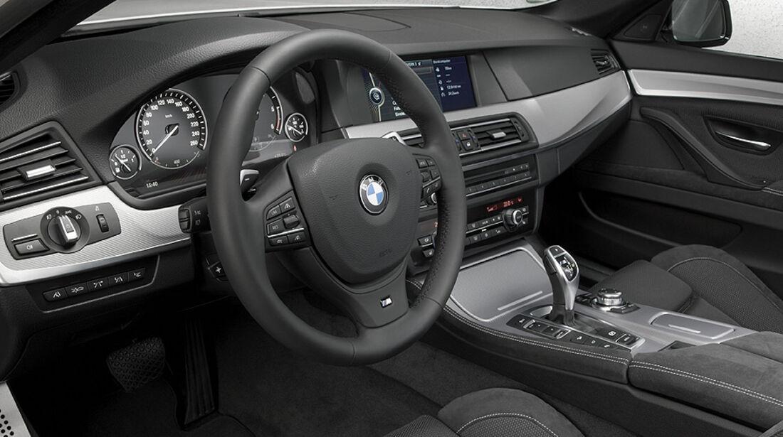 01/2012, BMW M 550d xDrive, Innenraum