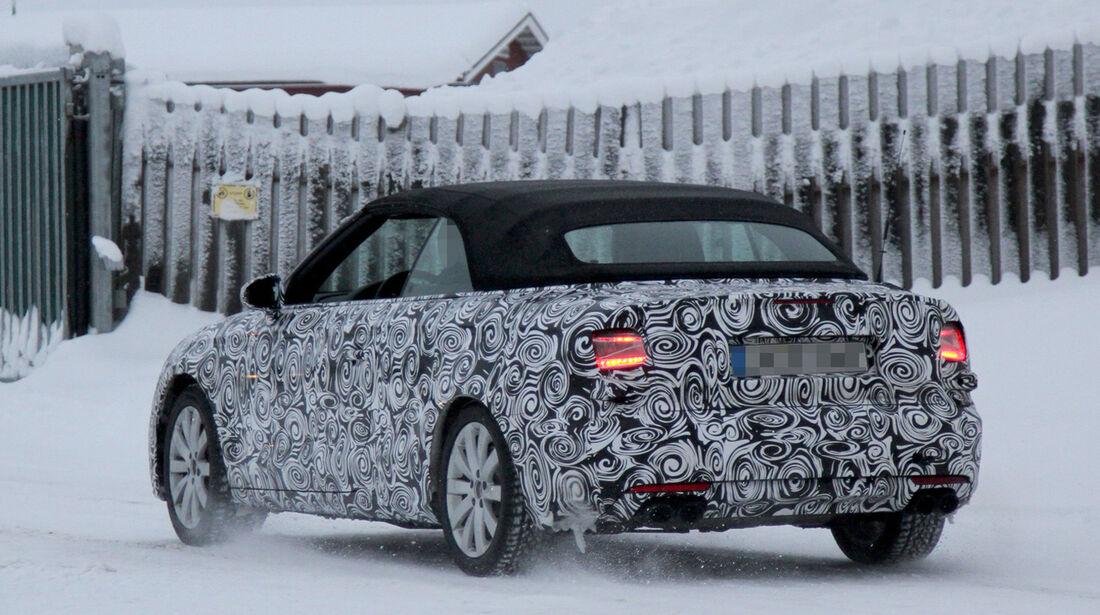 01/2013, Erlkönig, Audi S3