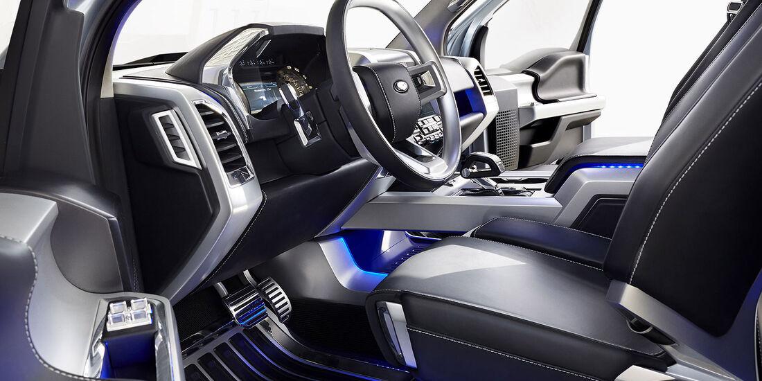 01/2013 Ford Atlas Concept, Innenraum