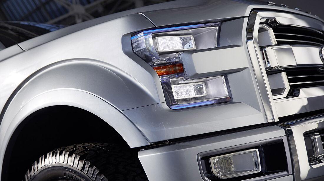 01/2013 Ford Atlas Concept, Scheinwerfer