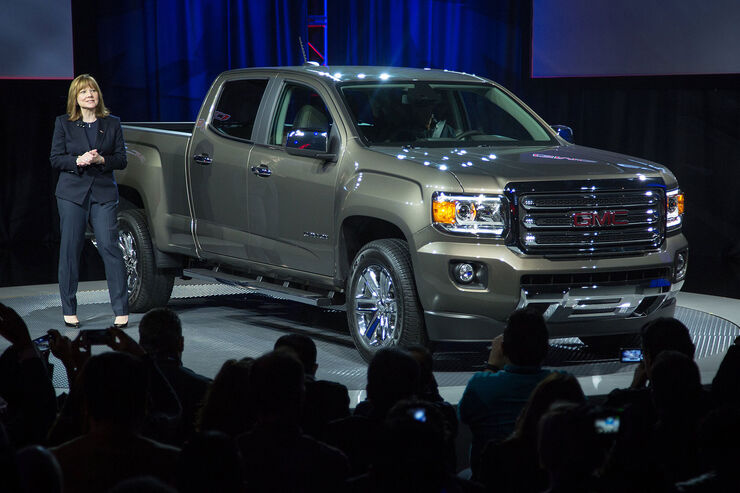 01/2014, GMC Canyon Detroit Motor Show