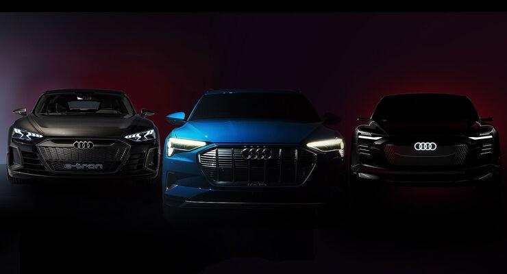 01/2019, Audi E-Tron GT, Quattro und Sportback