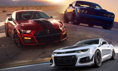 muscle car - auto motor und sport
