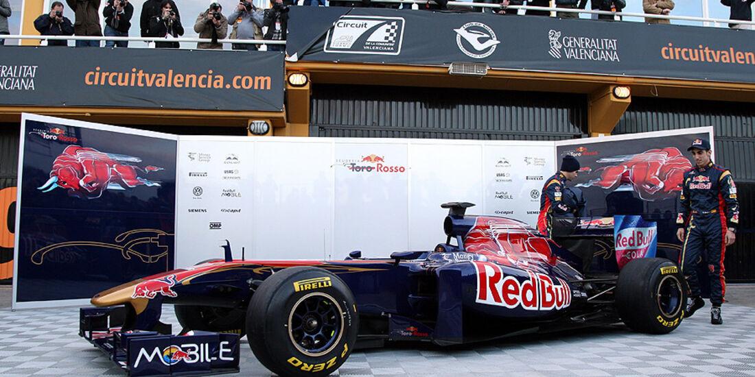 02/11 Toro Rosso STR6 2011 Launch