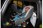 02/2011, EuroNCAP, Crashtest, Mitsubishi ASX, Kindersitzcrashtest