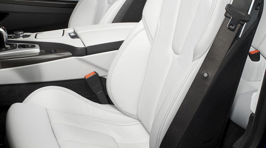 02/2012 BMW M6 Cabrio, Sitze