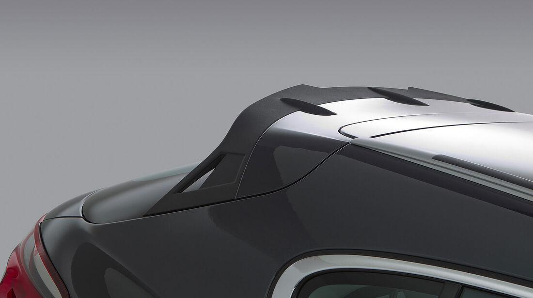 02/2013, Qoros 3 Cross Concept, Dachlantenspoiler