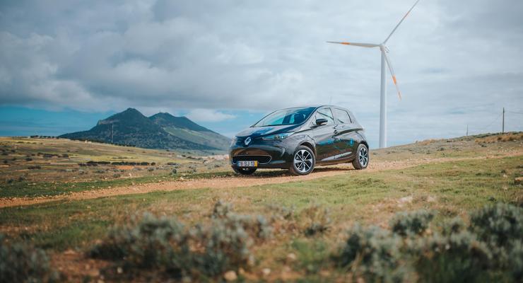 02/2018, Renault Zoe auf Porto Santo
