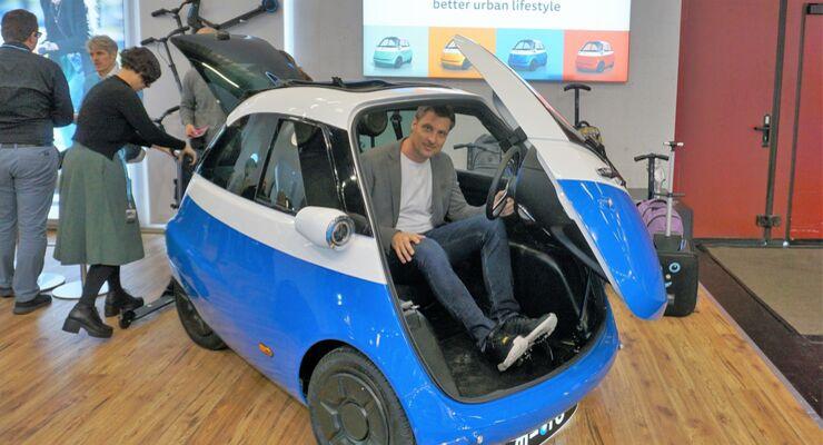 Sitzprobe im Microlino Elektroauto: Retro mit Stecker - auto motor ...