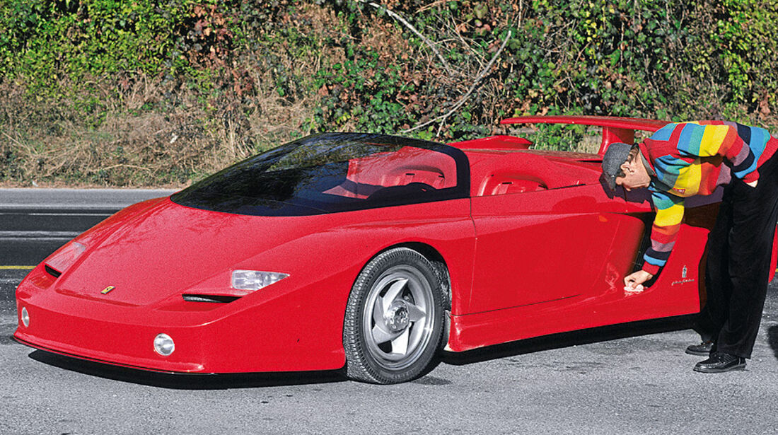 03/11 Auto-Biografie, Werner Schruf, Ferrari Mythos