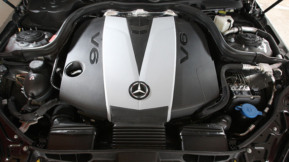 03/2011 Mercedes E 350CDI, aumospo 06/2011, Allrad, Motor