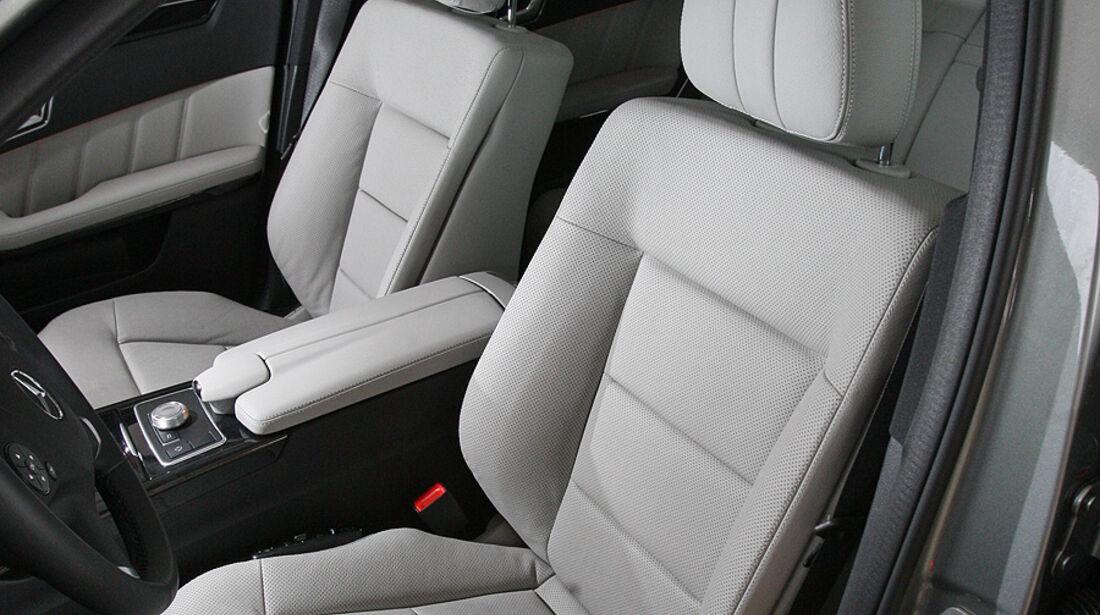 03/2011 Mercedes E 350CDI, aumospo 06/2011, Allrad, Sitze, vorn