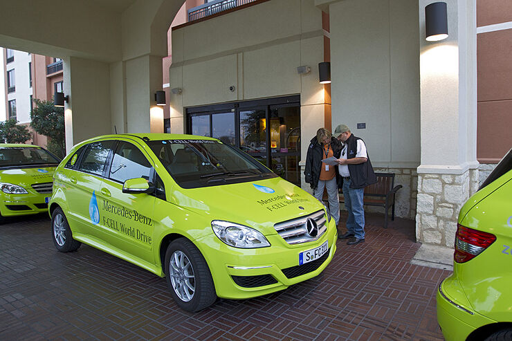 03/2011 Mercedes F-Cell World Drive, 16. Etappe