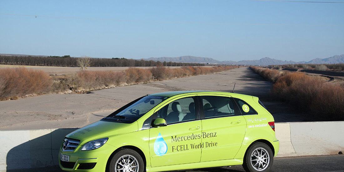 03/2011 Mercedes F-Cell World Drive, 17. Etappe
