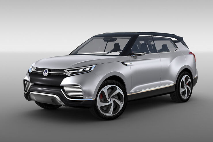 03/2014, SsangYong XLV Concept Genf