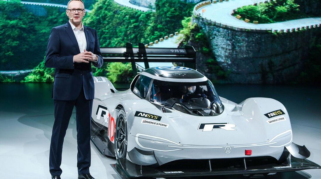 03/2019; VW ID R. mit Dr. Stephan Wöllenstein