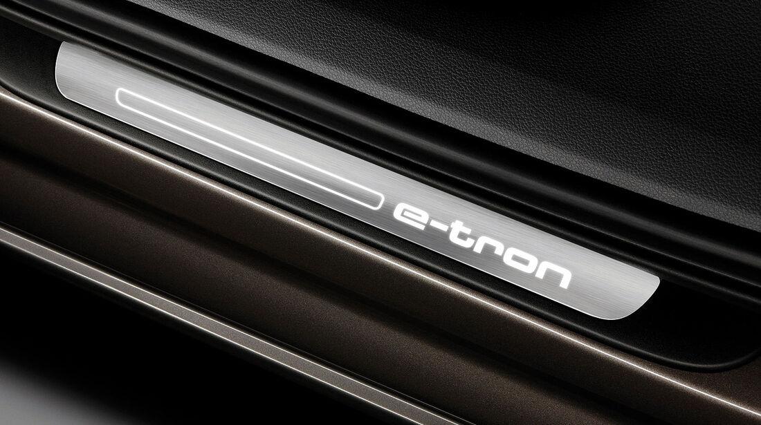 04/2012, Audi A6 L E-Tron Concept Auto China, Einstiegsleiste