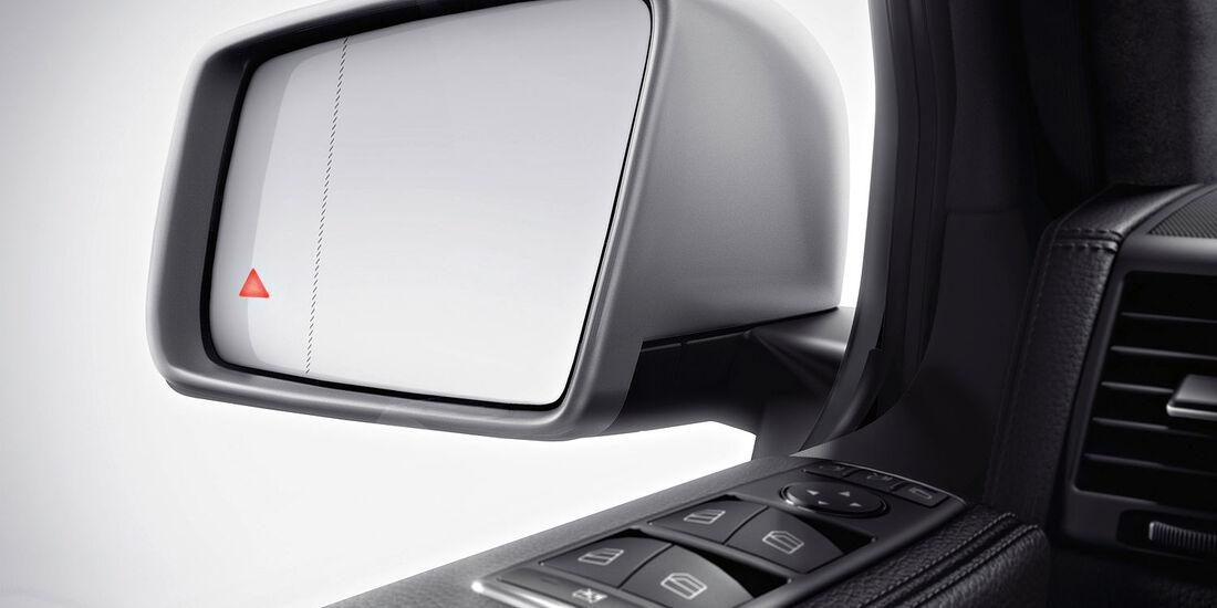 04/2012, Mercedes G-Klasse, Außenspiegel, Totwinkelassistent