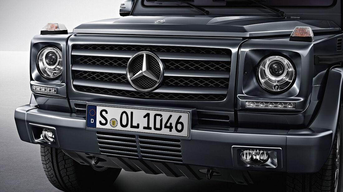 04/2012, Mercedes G-Klasse, Kühlergrill