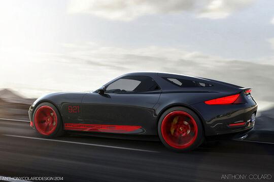 04/2014 Anthony Colard Porsche 921 Project