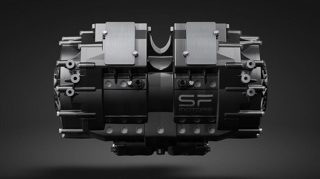 04/2019, SF Motors Elektromotor