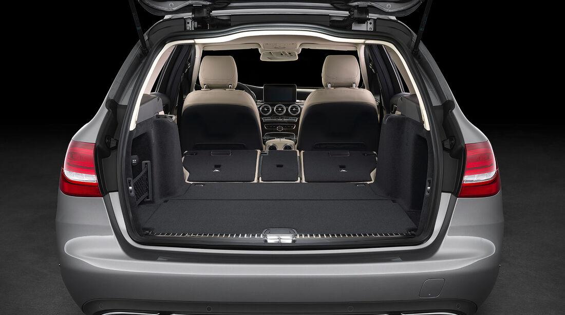 05/2014 Mercedes C-Klasse T-Modell Kombi, Kofferraum