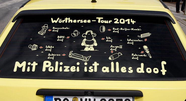 05/2014 VW Golf GTI Treffen 2014 T Shirt Sprüche