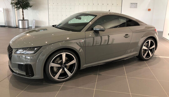 05/2019, Audi TT Quantumgrau Edition