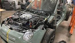 06/2019, Fiat 500 mit Hellcat-Motor