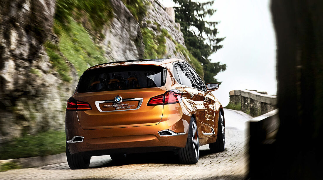 07/2013 BMW Concept Active Tourer Outdoor Sperrfrist 11.07.2013 00.00 Uhr