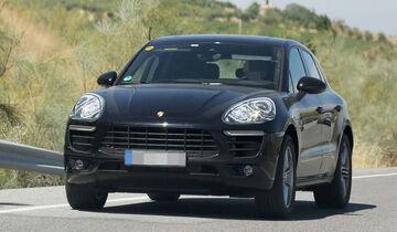 07/2013 Porsche Macan Erlkönig