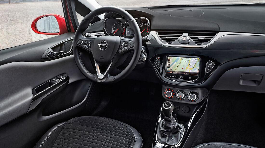 07/2014, Opel Corsa, Modellwechsel, Innenraum