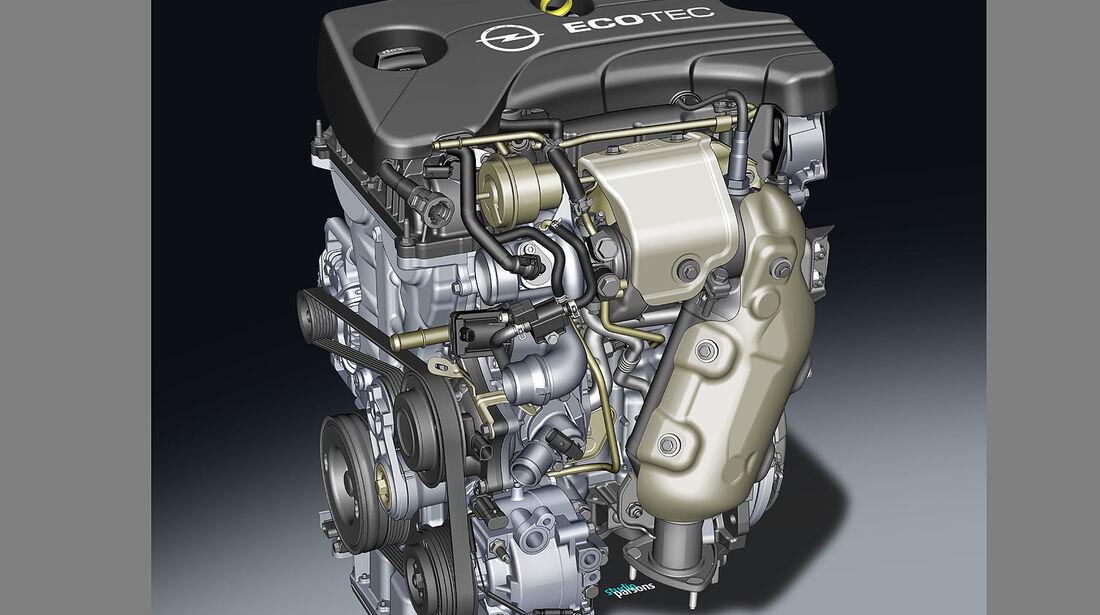 07/2014, Opel Corsa, Modellwechsel, Motor
