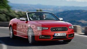 07/2015, Audi S5 Cabrio ohne Singleframe-Grill