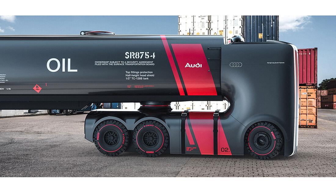 07/2016, Audi Truck Studie