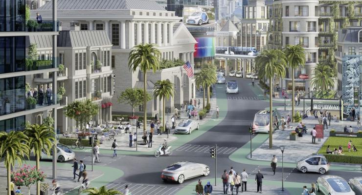 07/2018, Daimler und Bosch Autonome Tests in Kalifornien