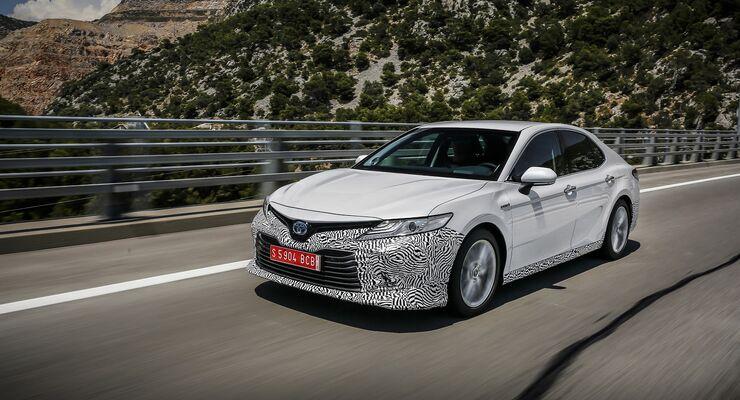 Fahrbericht Toyota Camry Hybrid 2019 Sparen Ohne Diesel Auto