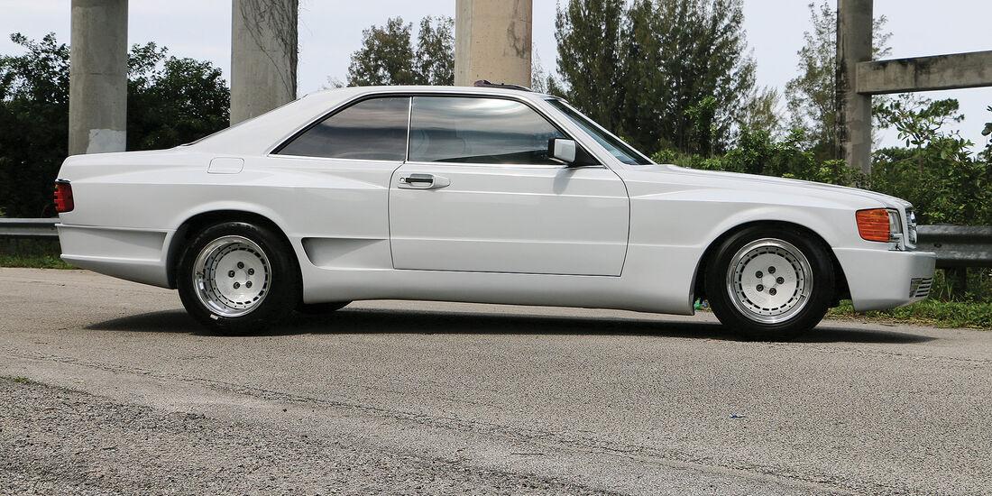 07/2019, 1987 Mercedes-Benz 1000 SEL Autosalon 2000 Super Sport