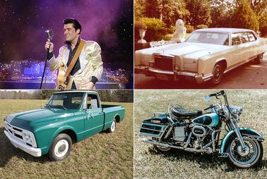 Elvis' Fuhrpark wird versteigert