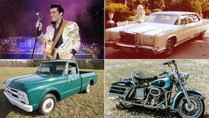 07/2019, Elvis Presley und seine Fahrzeuge