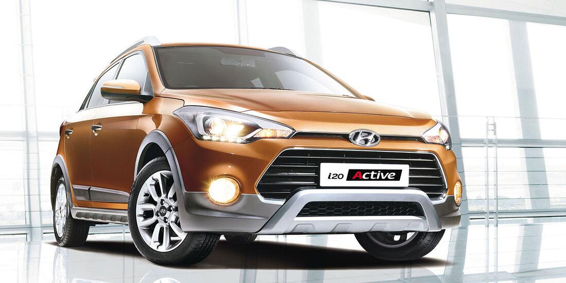 08/2015 Hyundai i20 Active Indien