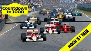 1.000 GPs - Teaser - Ayrton Senna - McLaren - GP Australien 1990 - Adelaide